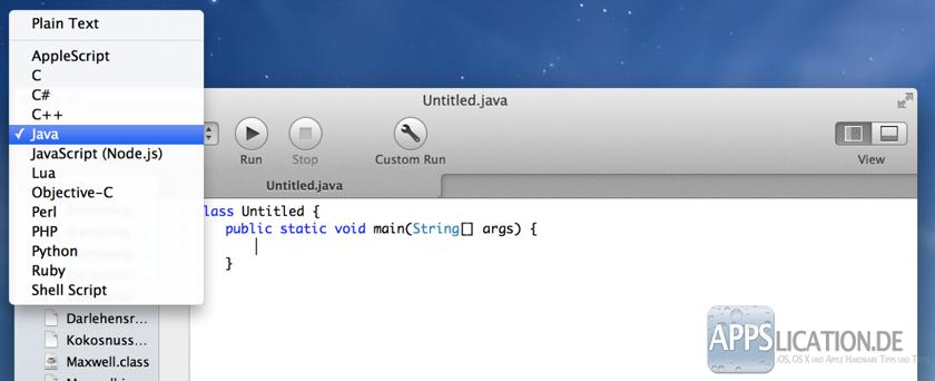 Mac CodeRunner