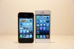 Vergleich Bildschrimgröße iPhone 4S und iPhone 5