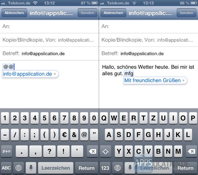 Kurzbefehle erstellen & hinzufügen unter iOS