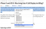 Mac Sprachausgabe verwenden und als Titel zu iTunes hinzufügen