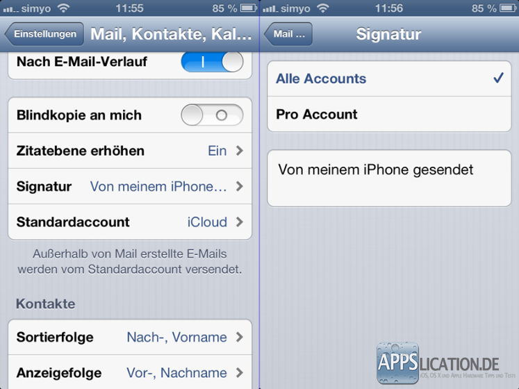 signatur email erstellen