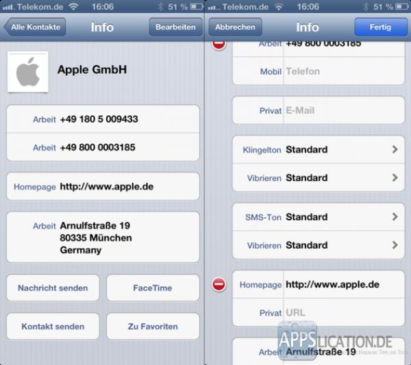 Eigene Vibration bzw. Vibrationsmuster erstellen für iPhone