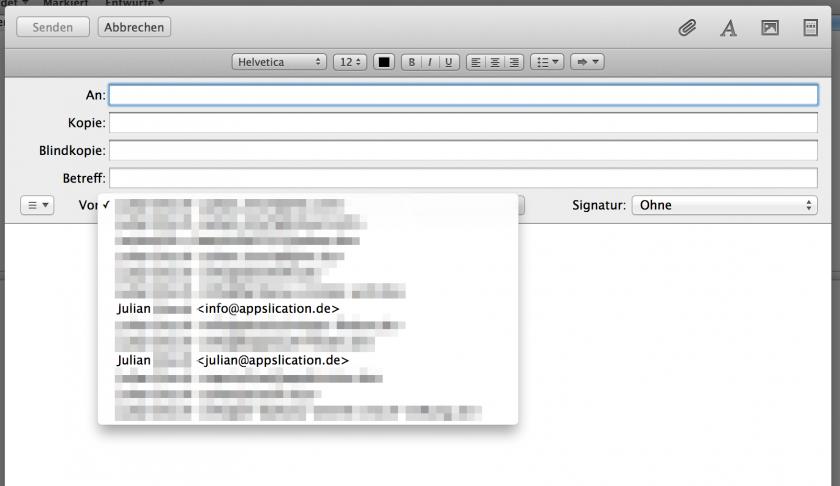Mac_Mail_mehrere_Mail_Adressen_mit_einem_account_Absender