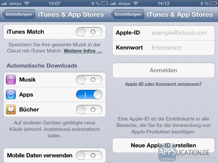 Apps automatisch updaten/aktualisieren