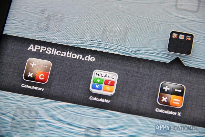 Kostenlose Taschenrechner Apps für das iPad im Test