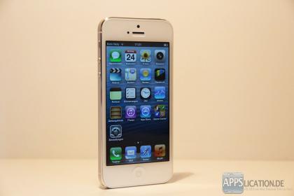 iPhone 5 in weiß