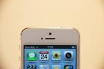 Vorderansicht iPhone 5 in weiß