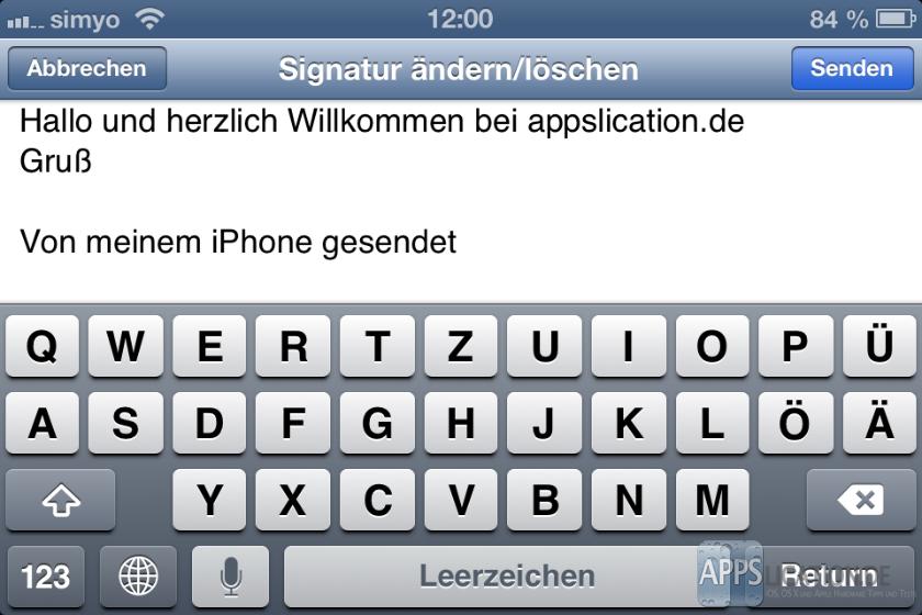 Von meinem iPhone/iPad entfernen/löschen